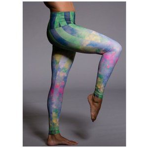 Onzie Yoga Daydream Cloud Sky Yoga Pants